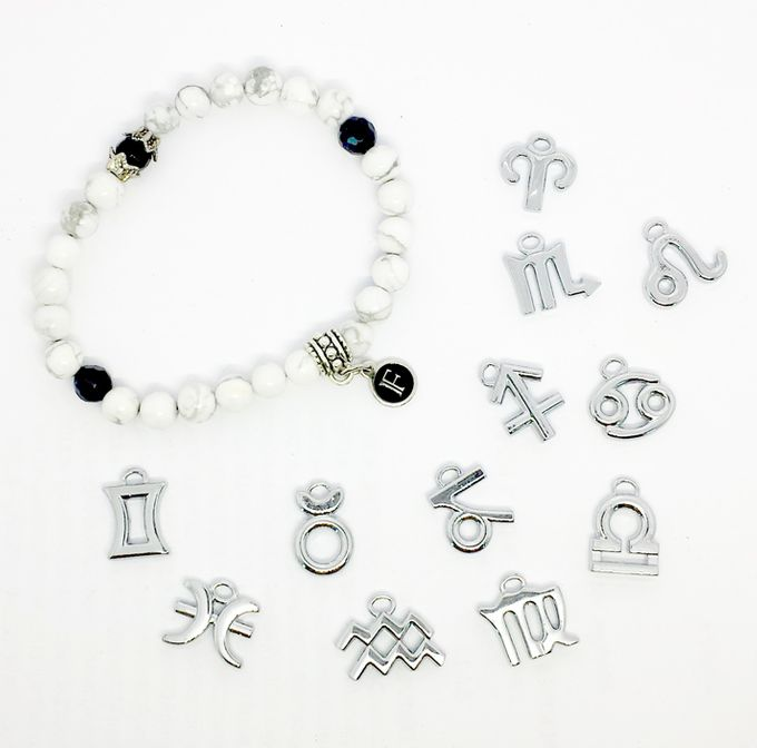 Custom Birthstone and Zodiac Bracelets by FixationShop - 003