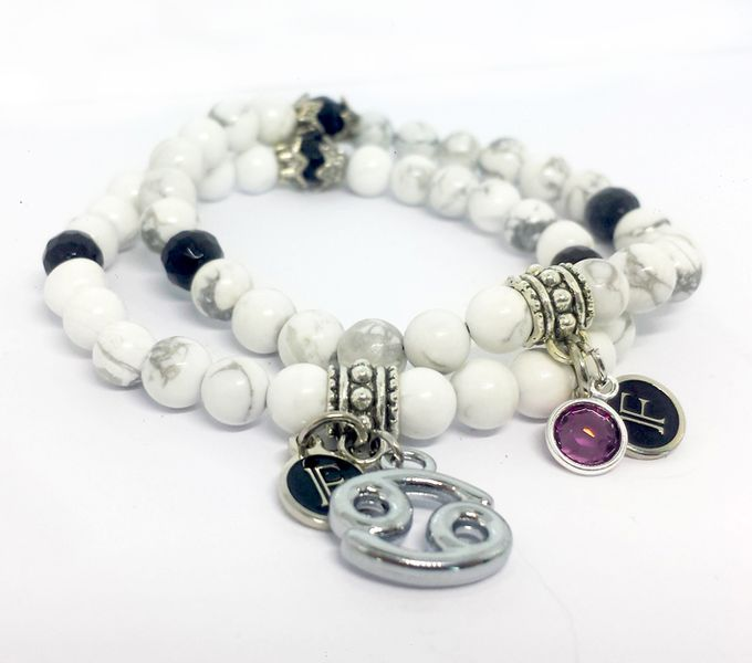 Custom Birthstone and Zodiac Bracelets by FixationShop - 004