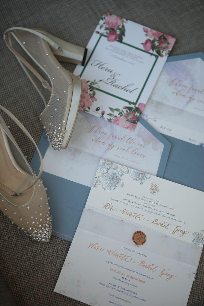 The Wedding of Heru & Rachel by WYMM Organizer - 001