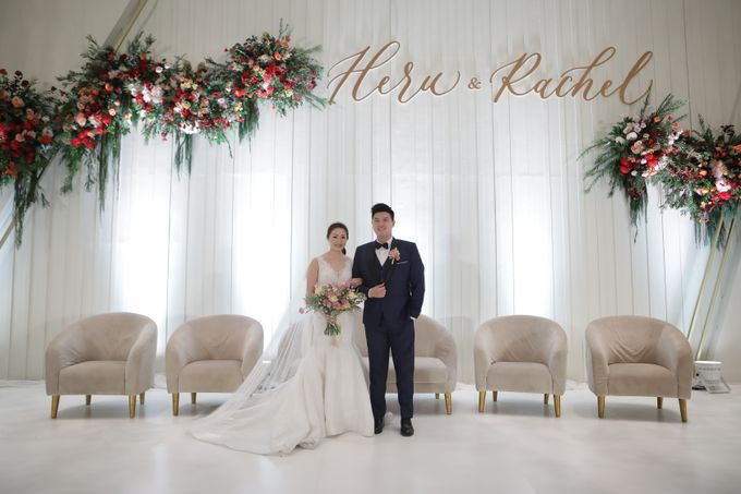 The Wedding of Heru & Rachel by WYMM Organizer - 018