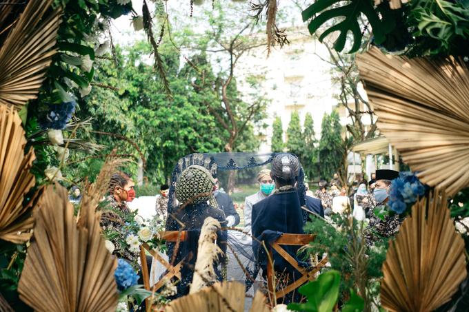 Akad Nikah Fatimah & Abdul Hotel Kristal Jakarta by HR Team Wedding Group - 006