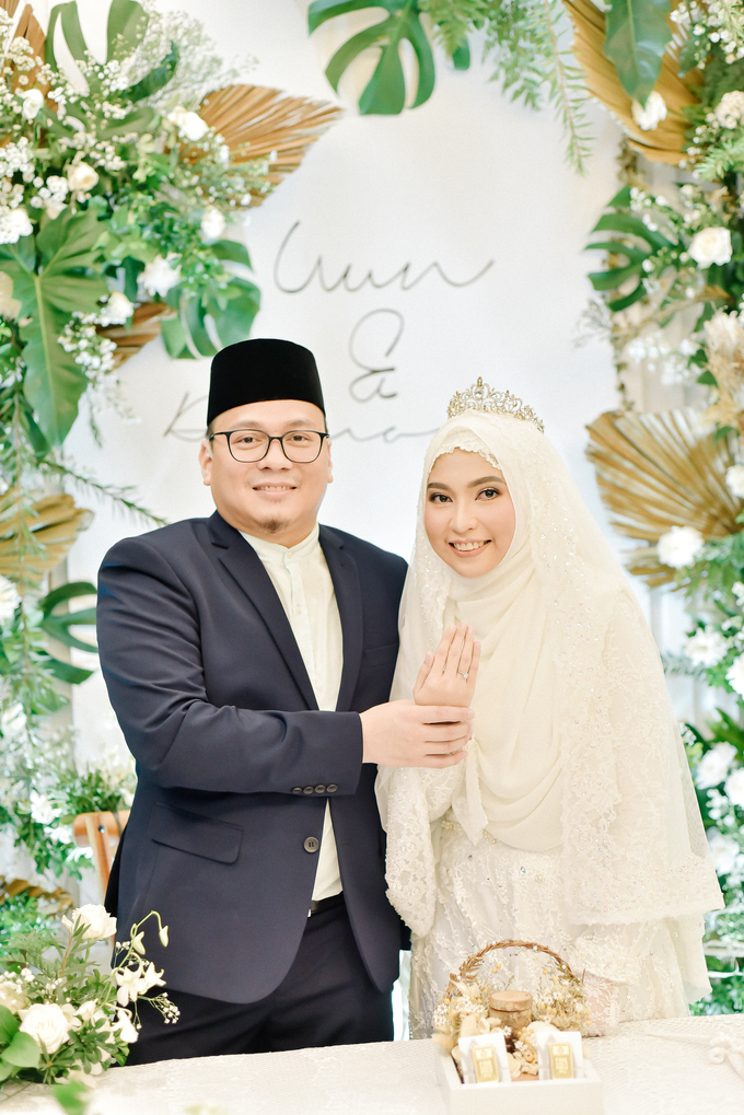 Akad Nikah Uswatun & Damoza at Mercure Gatsu by HR Team Wedding Group - 012