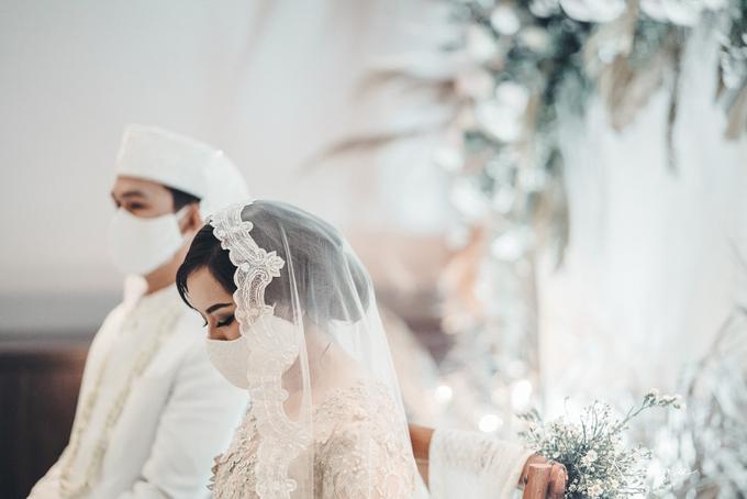Syahnaz&Azam Akad Nikah at Swissbell Pondok Indah by HR Team Wedding Group - 004