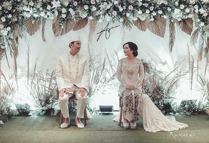 Syahnaz&Azam Akad Nikah at Swissbell Pondok Indah by HR Team Wedding Group - 001