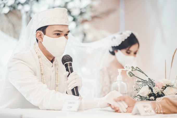 Syahnaz&Azam Akad Nikah at Swissbell Pondok Indah by HR Team Wedding Group - 003