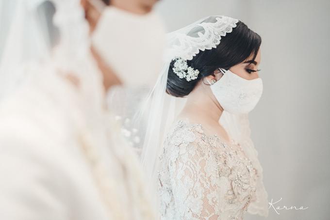 Syahnaz&Azam Akad Nikah at Swissbell Pondok Indah by HR Team Wedding Group - 005