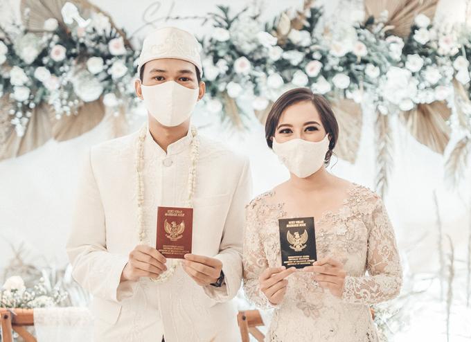 Syahnaz&Azam Akad Nikah at Swissbell Pondok Indah by HR Team Wedding Group - 012