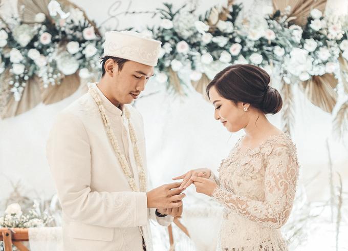 Syahnaz&Azam Akad Nikah at Swissbell Pondok Indah by HR Team Wedding Group - 013