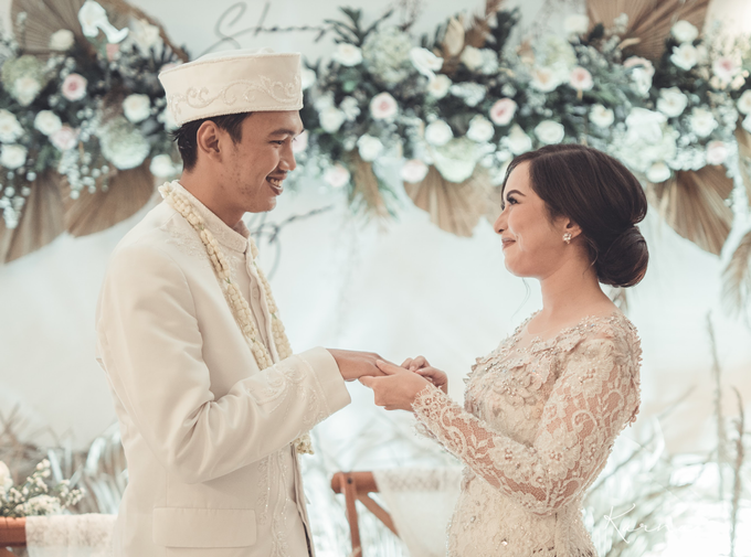 Syahnaz&Azam Akad Nikah at Swissbell Pondok Indah by HR Team Wedding Group - 014