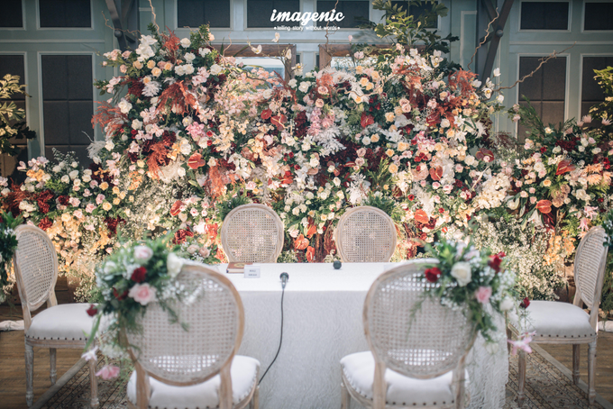 Akad Nikah New Normal Alya&fikri at the courtyard  by Nicca - 008