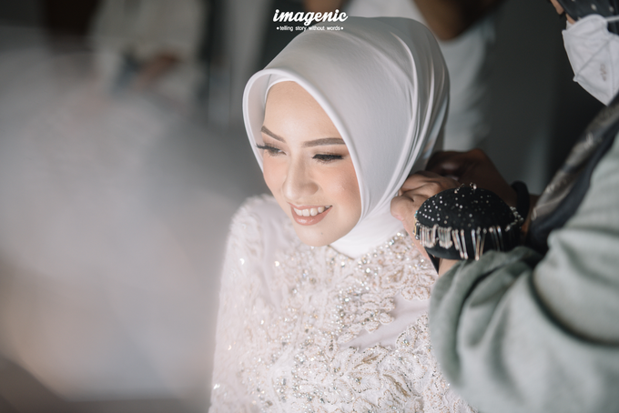 Akad Nikah New Normal Alya&fikri at the courtyard  by Nicca - 009