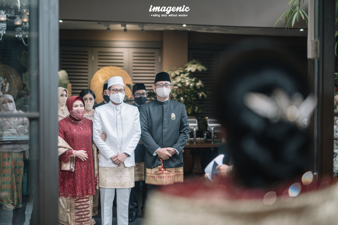 Akad Nikah New Normal Alya&fikri at the courtyard  by HR Team Wedding Group - 010