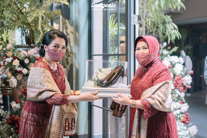 Akad Nikah New Normal Alya&fikri at the courtyard  by Nicca - 011