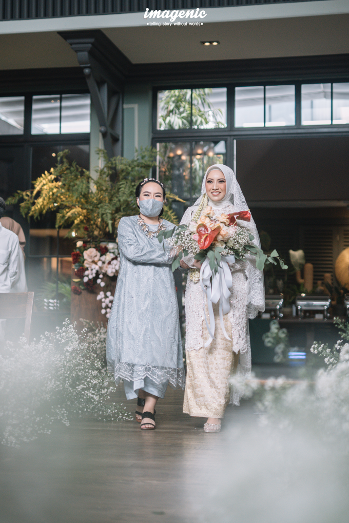 Akad Nikah New Normal Alya&fikri at the courtyard  by HR Team Wedding Group - 014