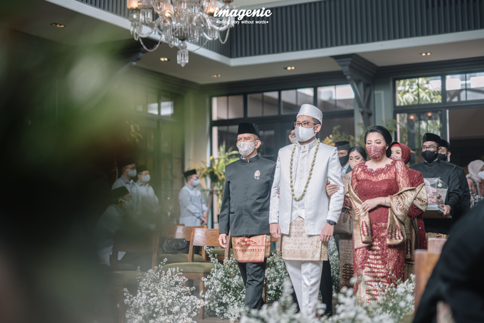 Akad Nikah New Normal Alya&fikri at the courtyard  by Nicca - 013