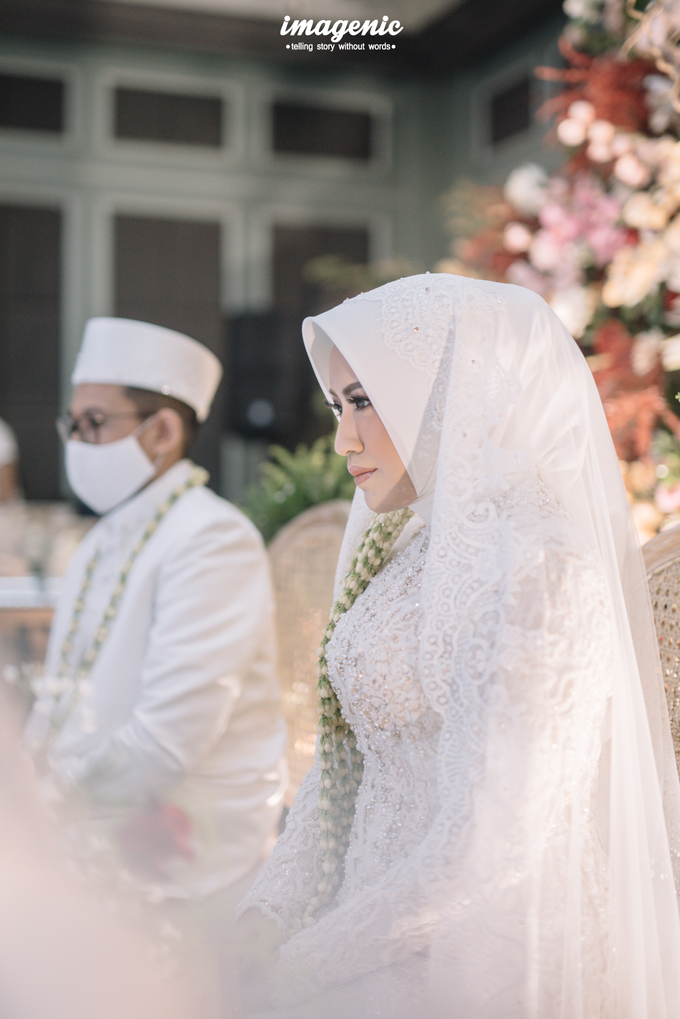 Akad Nikah New Normal Alya&fikri at the courtyard  by HR Team Wedding Group - 015