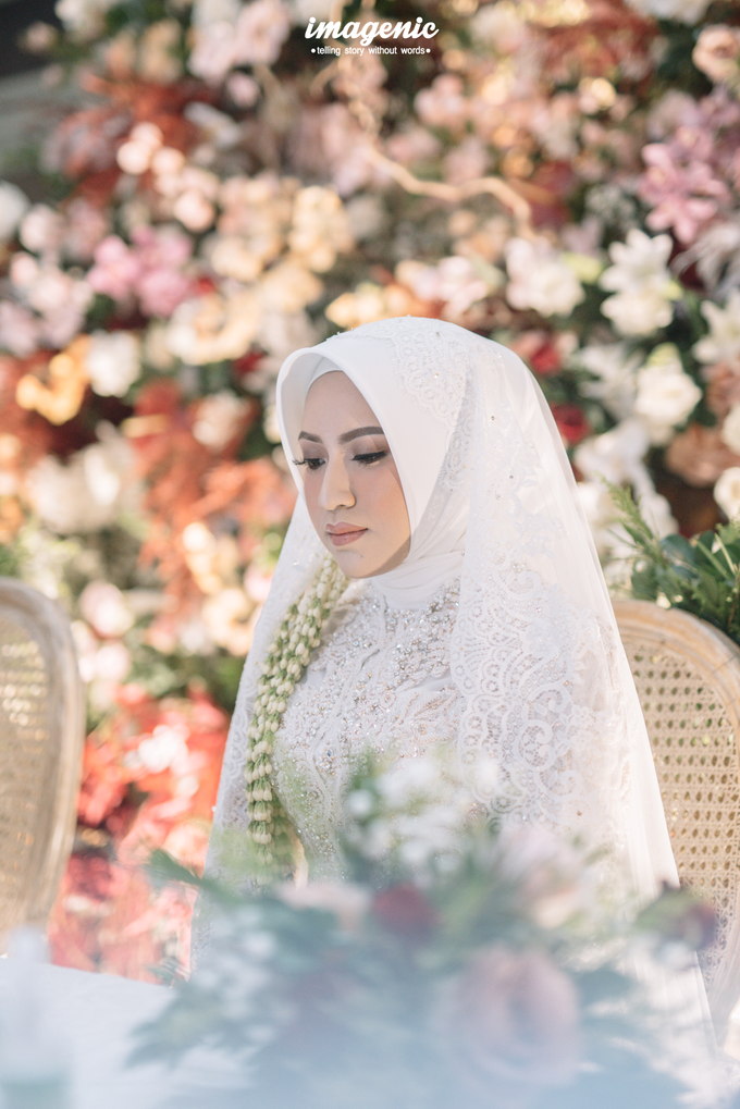 Akad Nikah New Normal Alya&fikri at the courtyard  by Nicca - 016