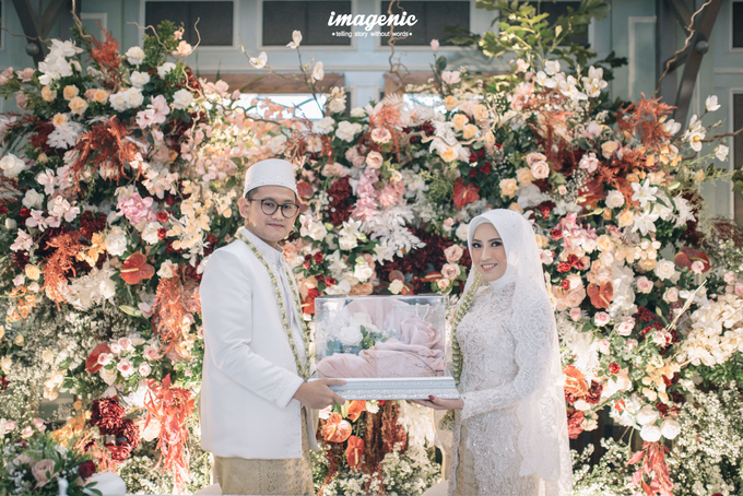 Akad Nikah New Normal Alya&fikri at the courtyard  by HR Team Wedding Group - 019