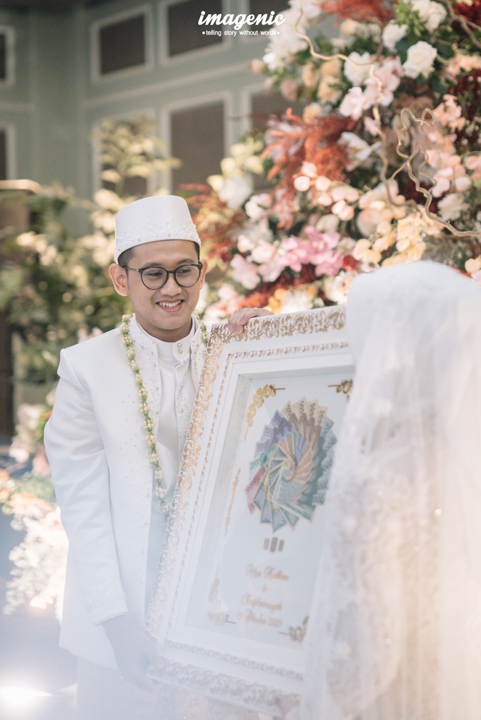 Akad Nikah New Normal Alya&fikri at the courtyard  by HR Team Wedding Group - 020