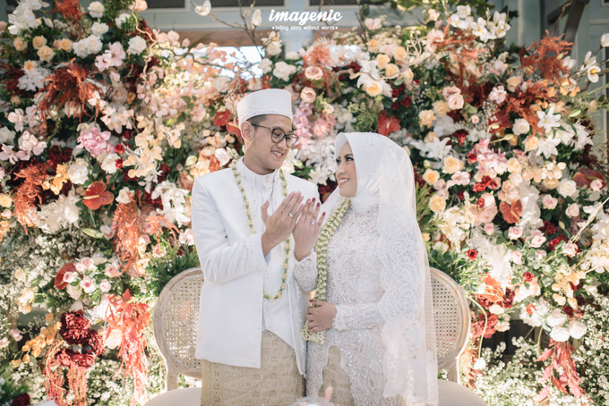 Akad Nikah New Normal Alya&fikri at the courtyard  by HR Team Wedding Group - 023