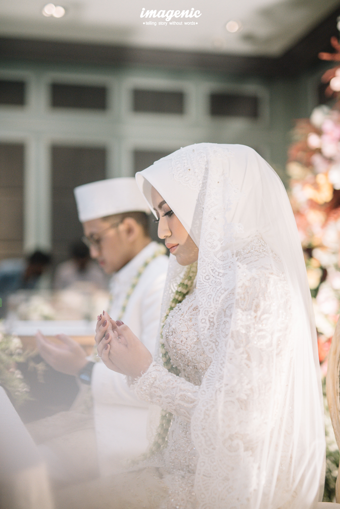 Akad Nikah New Normal Alya&fikri at the courtyard  by Nicca - 026