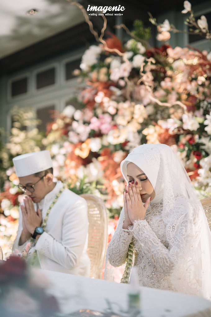 Akad Nikah New Normal Alya&fikri at the courtyard  by Nicca - 029
