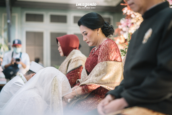 Akad Nikah New Normal Alya&fikri at the courtyard  by Nicca - 031