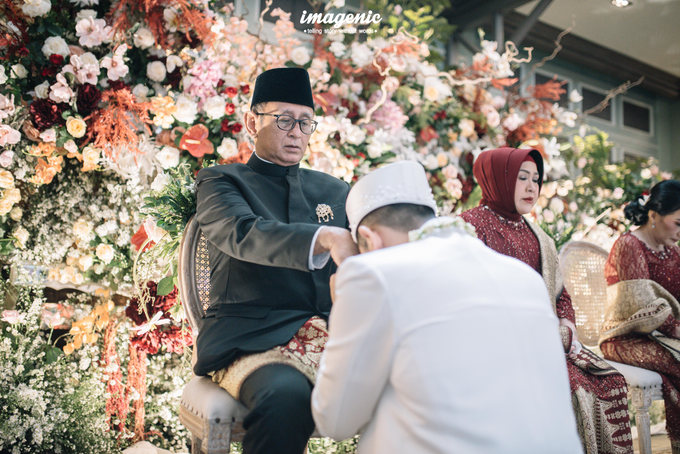 Akad Nikah New Normal Alya&fikri at the courtyard  by Nicca - 033