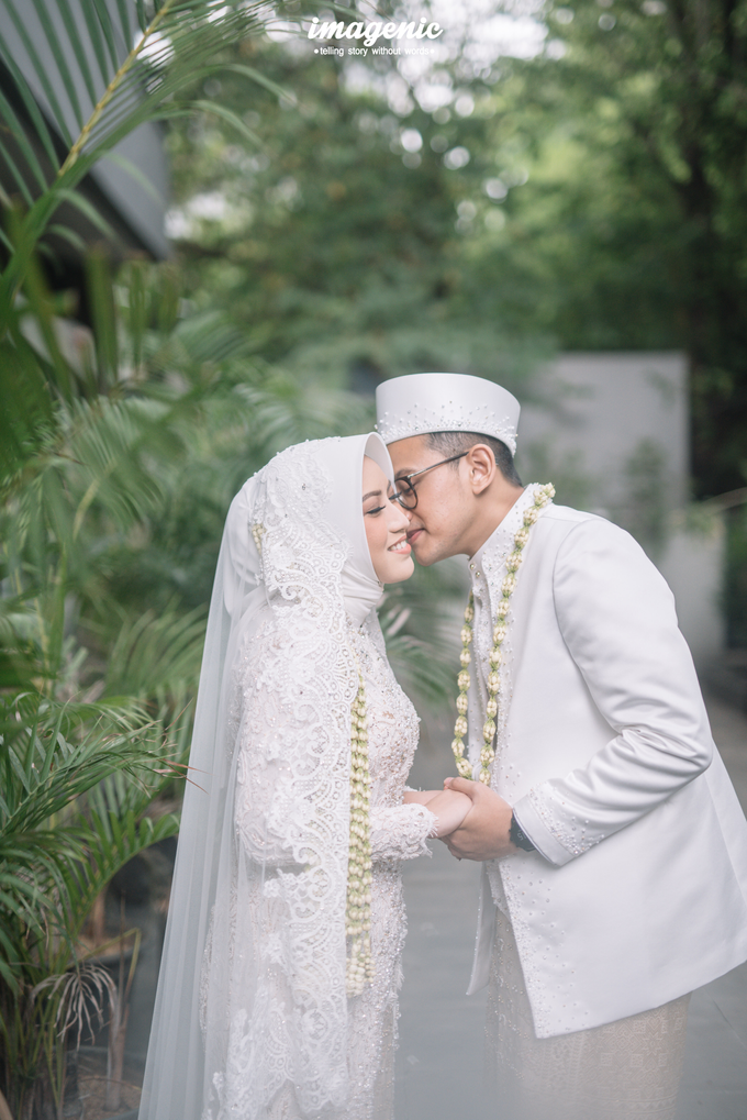 Akad Nikah New Normal Alya&fikri at the courtyard  by Nicca - 034