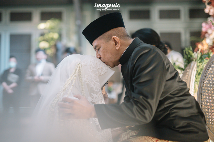 Akad Nikah New Normal Alya&fikri at the courtyard  by HR Team Wedding Group - 035