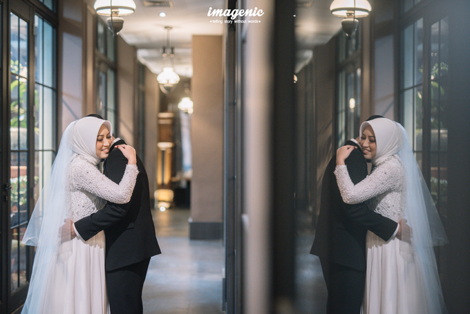 Intimate Wedding Alya & Fikri At Suasana Resto by HR Team Wedding Group - 001