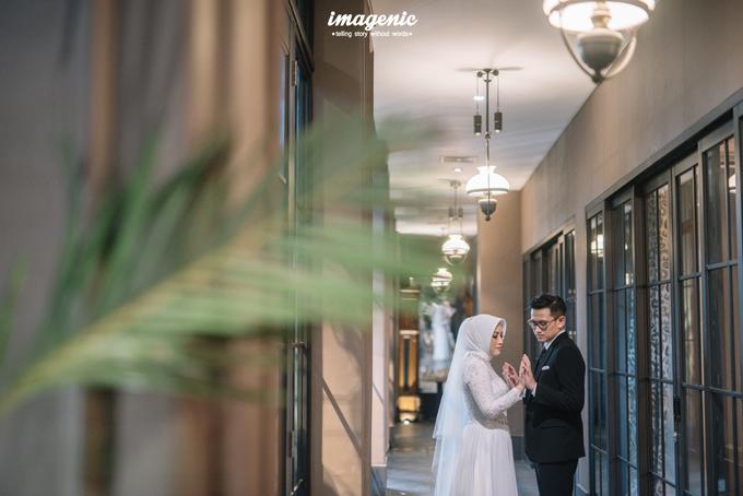 Intimate Wedding Alya & Fikri At Suasana Resto by HR Team Wedding Group - 002