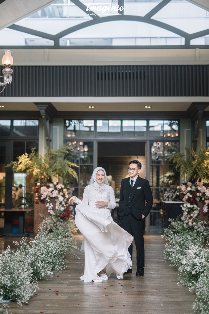 Intimate Wedding Alya & Fikri At Suasana Resto by HR Team Wedding Group - 003