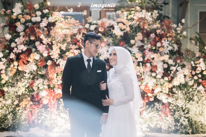 Intimate Wedding Alya & Fikri At Suasana Resto by HR Team Wedding Group - 004