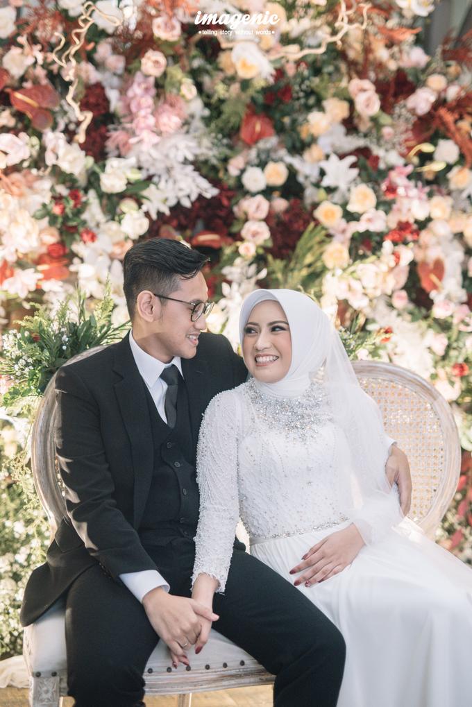 Intimate Wedding Alya & Fikri At Suasana Resto by HR Team Wedding Group - 005