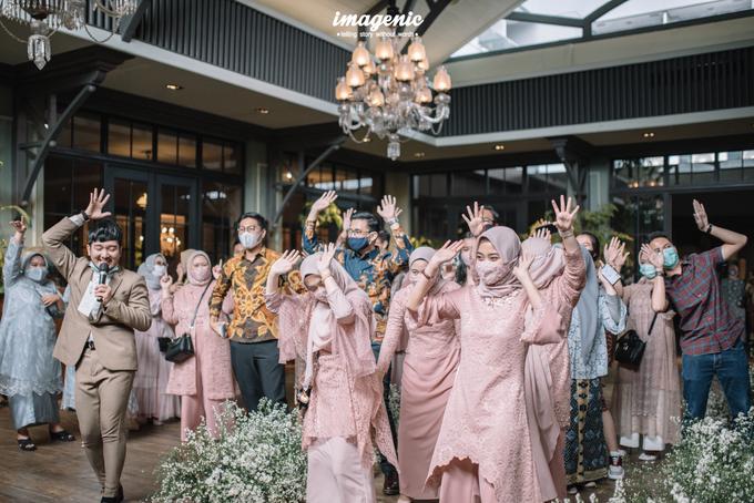 Intimate Wedding Alya & Fikri At Suasana Resto by HR Team Wedding Group - 007