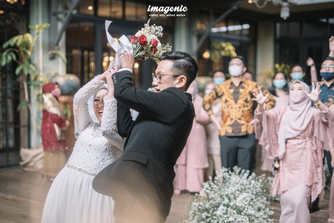 Intimate Wedding Alya & Fikri At Suasana Resto by HR Team Wedding Group - 008