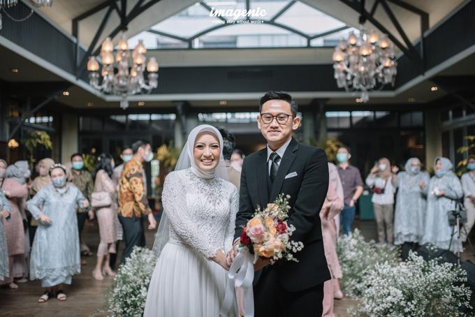 Intimate Wedding Alya & Fikri At Suasana Resto by HR Team Wedding Group - 009