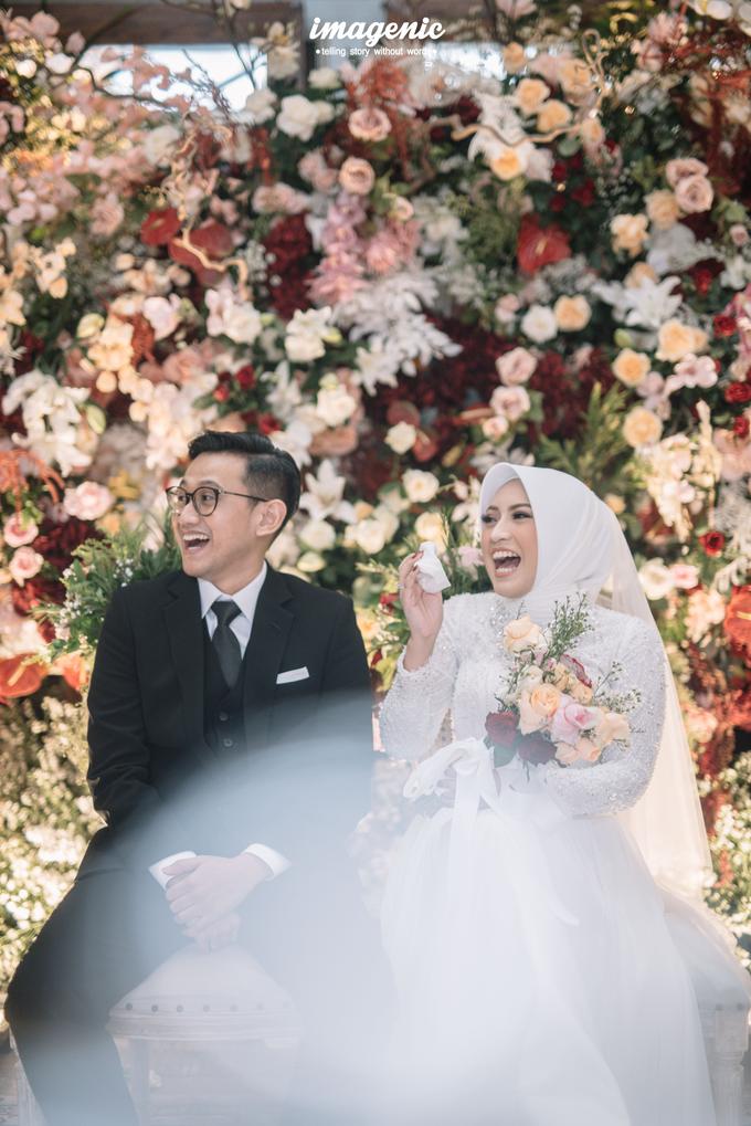 Intimate Wedding Alya & Fikri At Suasana Resto by HR Team Wedding Group - 010