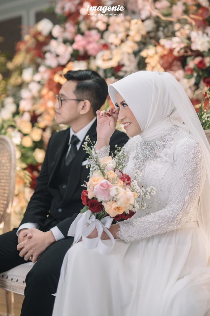 Intimate Wedding Alya & Fikri At Suasana Resto by HR Team Wedding Group - 012