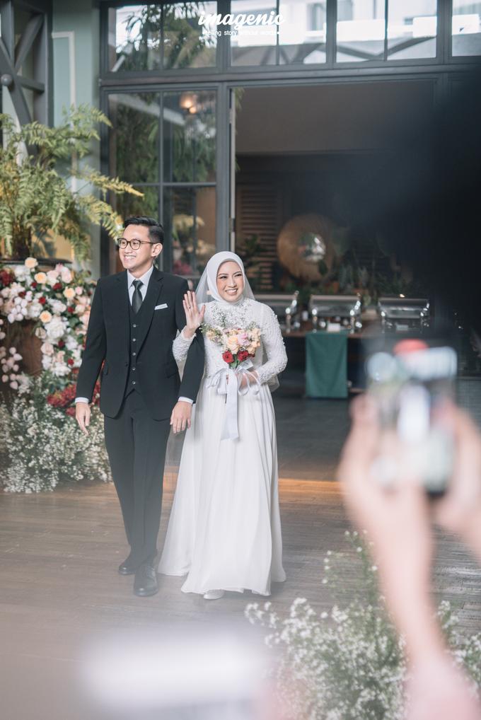 Intimate Wedding Alya & Fikri At Suasana Resto by HR Team Wedding Group - 014