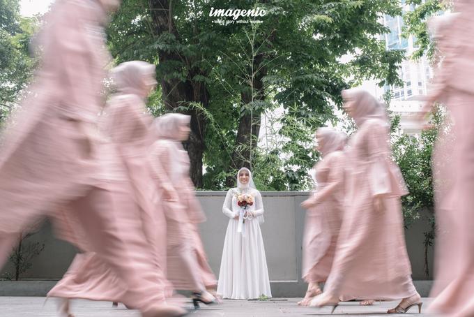 Intimate Wedding Alya & Fikri At Suasana Resto by HR Team Wedding Group - 015