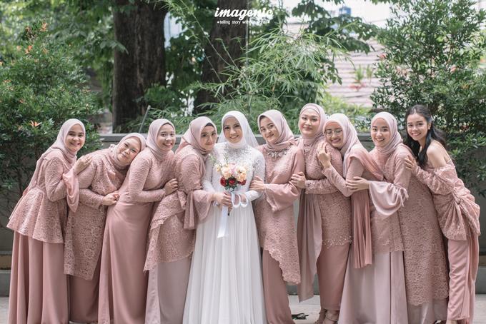 Intimate Wedding Alya & Fikri At Suasana Resto by HR Team Wedding Group - 016