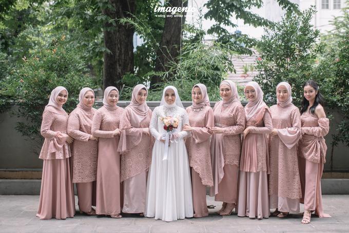 Intimate Wedding Alya & Fikri At Suasana Resto by HR Team Wedding Group - 017