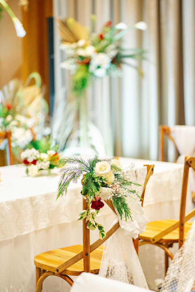 Intimate Wedding Arum & Rendy Hotel Morrisey  by HR Team Wedding Group - 001