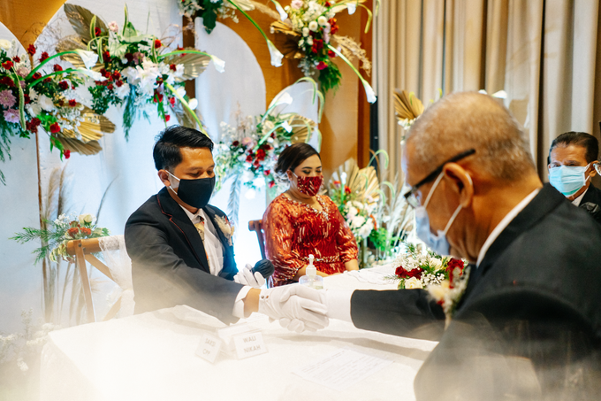 Intimate Wedding Arum & Rendy Hotel Morrisey  by HR Team Wedding Group - 010