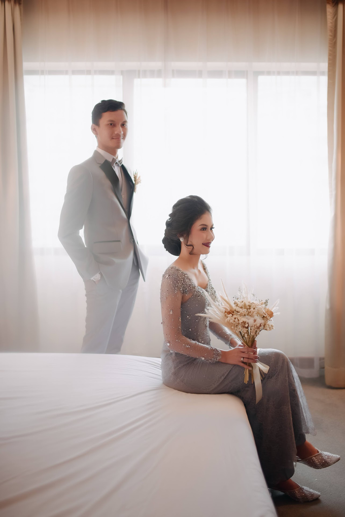 Intimate Wedding Adam & Intan at Hotel Grand Sahid  by HR Team Wedding Group - 001