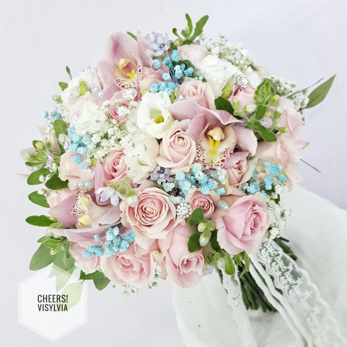 WEDDING BOUQUET  by visylviaflorist - 007