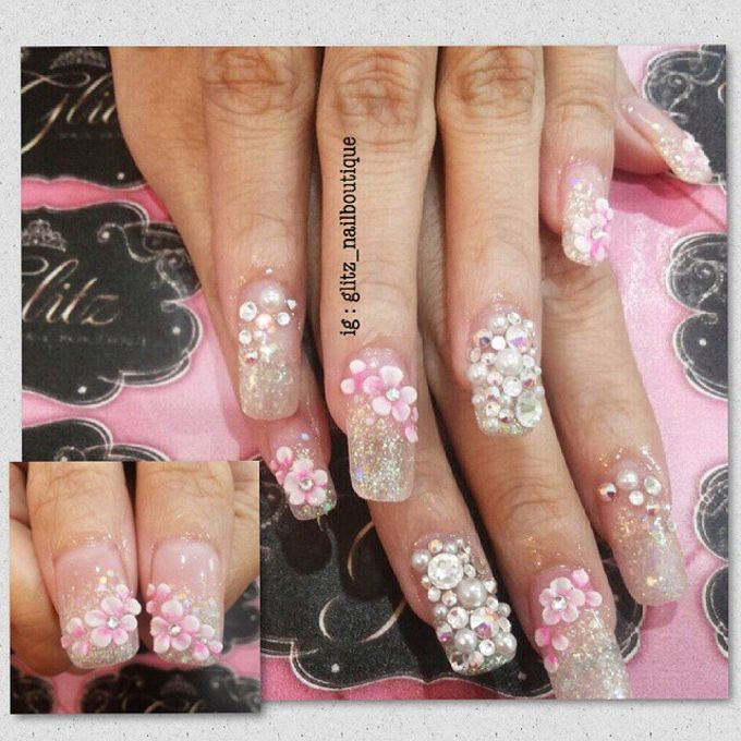 3d nail art by Brows To Toes - 002