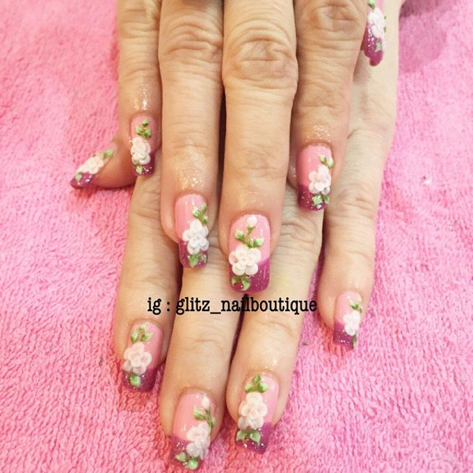 3d nail art by Brows To Toes - 003